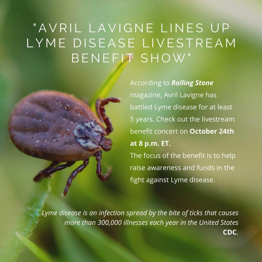 Avril Lavigne Benefit Concert for Lyme Disease